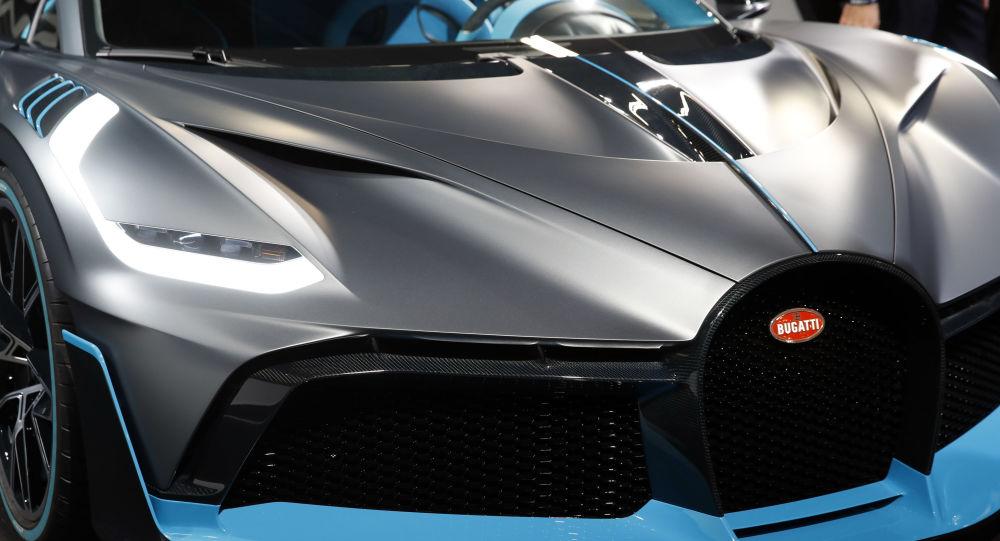 Una Bugatti Divo al Motor Show di Paris del 2018