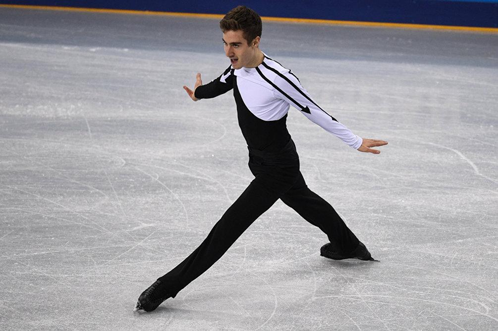 Matteo Rizzo, come CR7 all'uscita dal ghiaccio della Platinum Arena