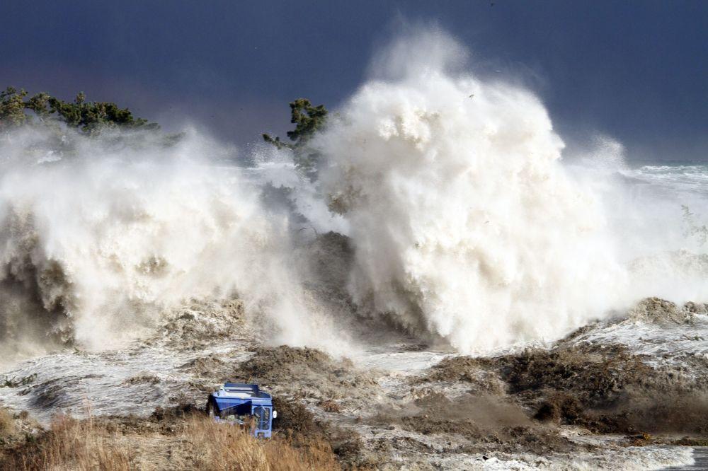 Tsunami nella prefettura di Fukushima - 11 marzo 2011