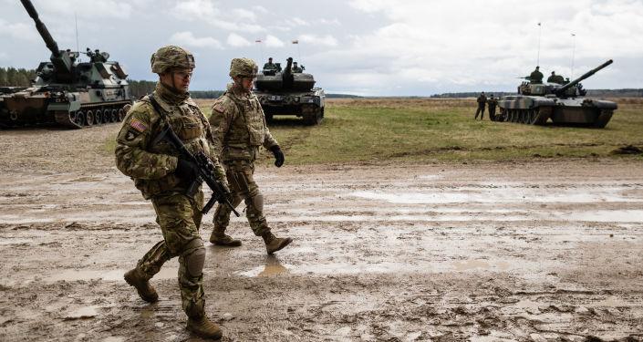 Soldati americani alle esercitazioni NATO in Polonia
