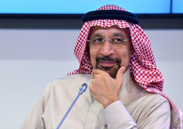 Ministro dell'energia saudita Khalid Al-Falih