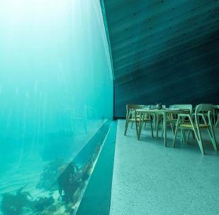 Under, il ristorante sottomarino più grande d'Europa