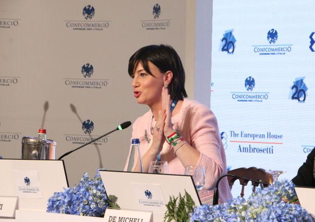 Lara Comi, vicepresidente del Gruppo Ppe all'Europarlamento