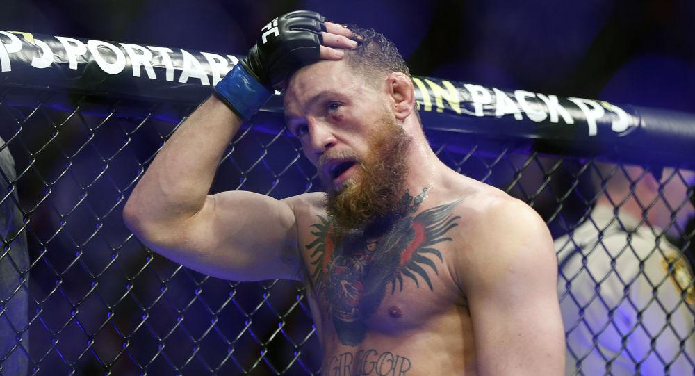L'artista marziale misto irlandese e campione dell'UFC  Conor McGregor