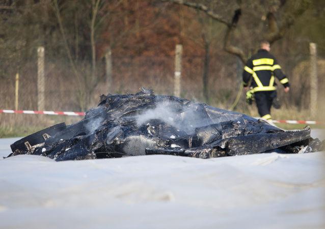 Schianto aereo in Germania