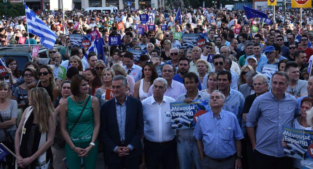 Le proteste in Grecia