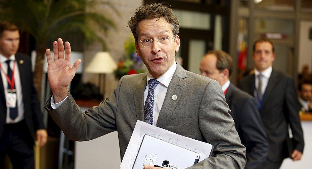 Presidente Eurogruppo Jeroen Dijsselbloem