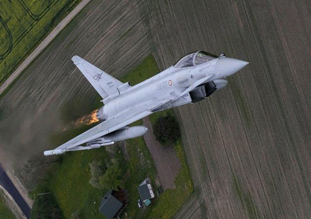 Caccia Eurofighter (foto d'archivio)