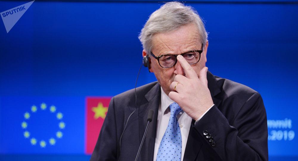 Il Presidente della Comissione Europea Jean-Claude Juncker