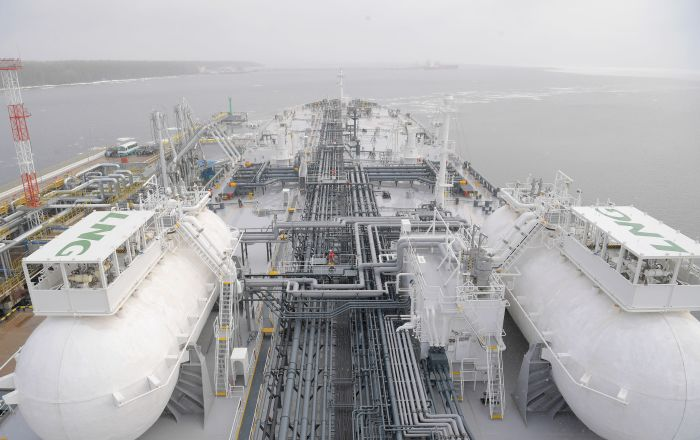 La nave petroliera Prospekt Mendeleev