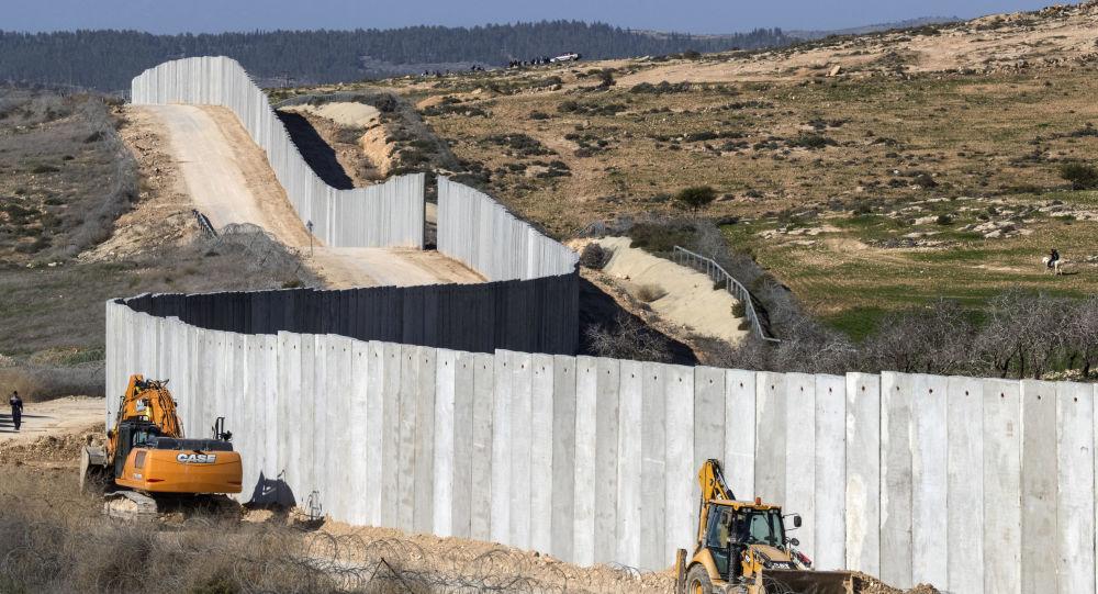Il muro tra Israele e la Cisgiordania