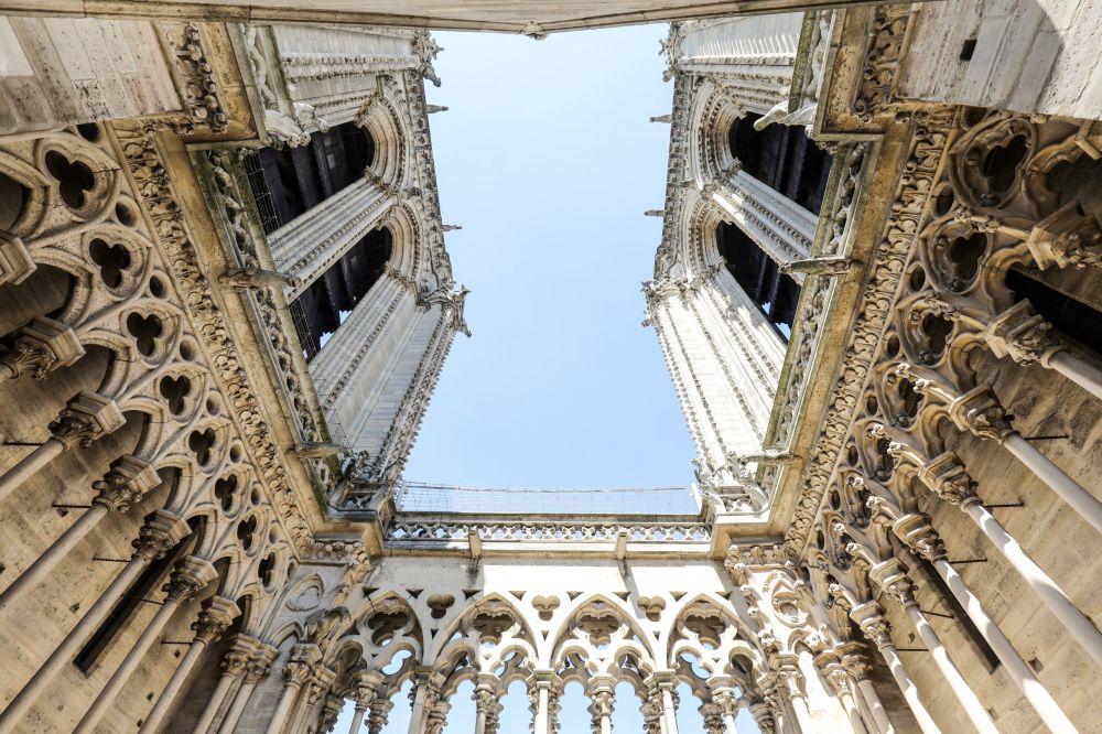 26 giugno 2018 - Le torri della cattedrale di Notre Dame