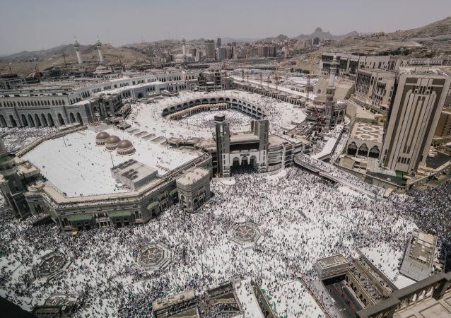 La Masjid al-Haram, o Grande Moschea, a La Mecca