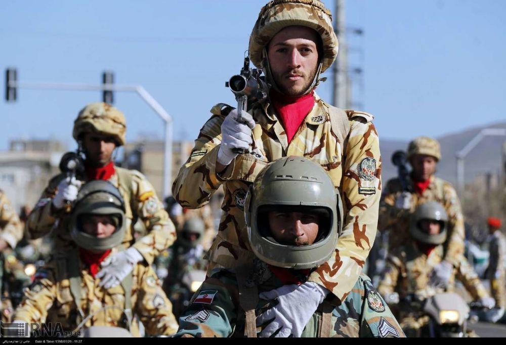 La parata per la Giornata delle Forze Armate della Repubblica Islamica dell'Iran