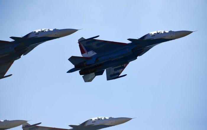 I caccis Su-30SM (foto d'archivio)