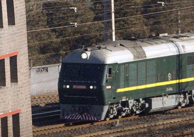 Il treno su cui è arrivato in Russia il leader nord'coreano Kim Jong-un