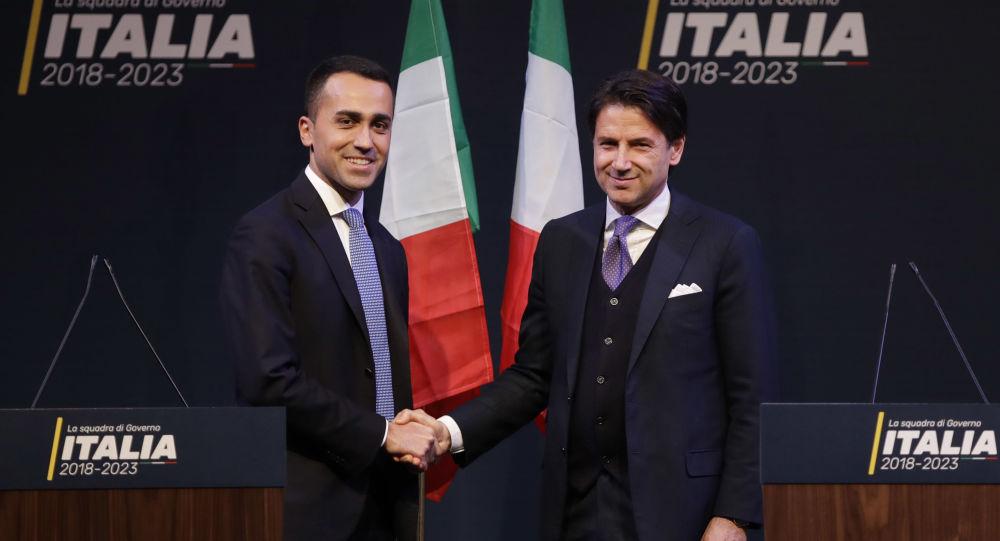 Giuseppe Conte e Luigi Di Maio