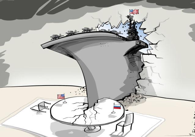 L'ambasciatore USA minaccia la Russia con le portaerei nel Mediterraneo