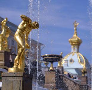 Le fontane di Petergof