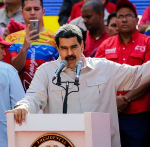 Nicolas Maduro a Caracas