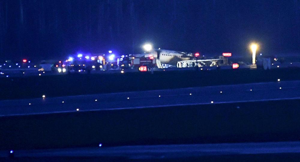 Il Superjet100 della compagnia aerea Aeroflot