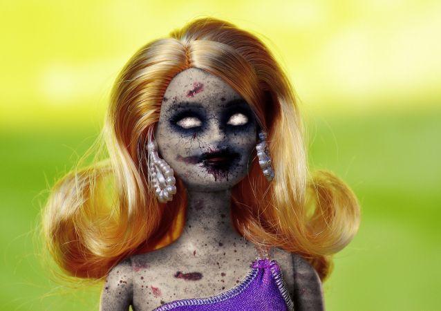 Barbie zombie (zarbie)