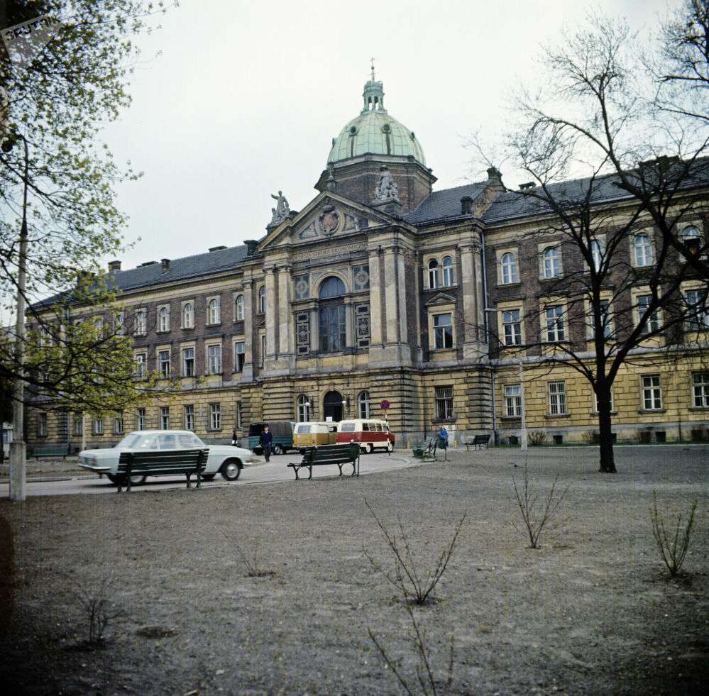 La città di Cracovia, 1974.