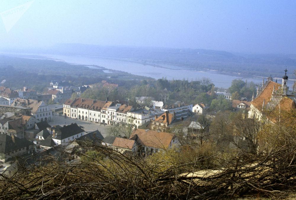 Cittadina polacca Kazimierz Dolny, 1985.