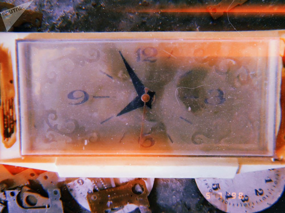 La fabbrica di orologi di Yerevan, ora abbandonata