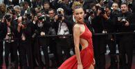 La modella e attrice statunitense Bella Hadid.