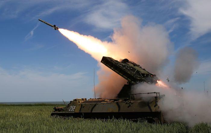 Un missile terra-aria Strela-10M3