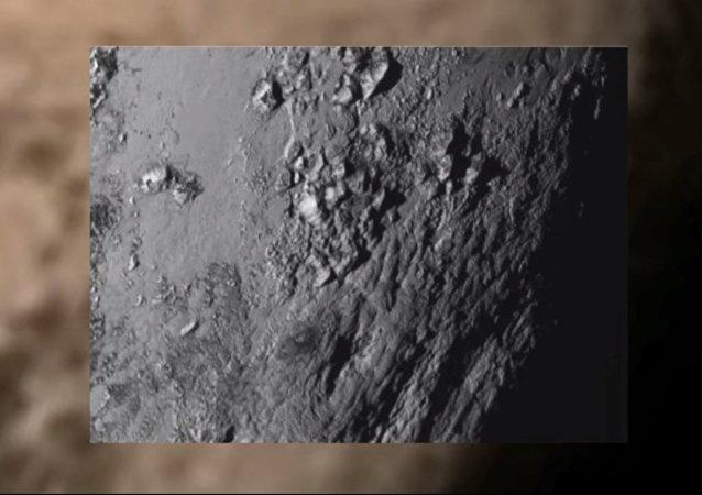 Monte di ghiaccio su Plutone