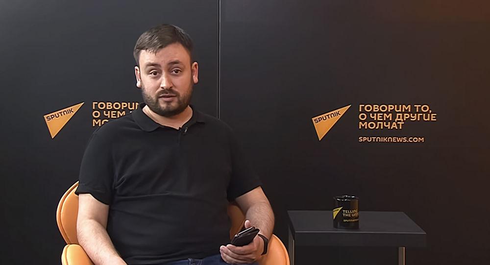 Il caporedattore Sputnik Lituania Marat Kasem