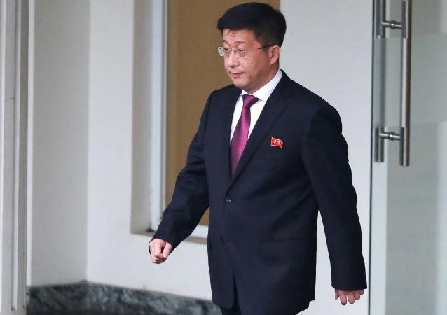 Kim Hyok-chol, inviato speciale nordcoreano sugli USA (foto d'archivio)