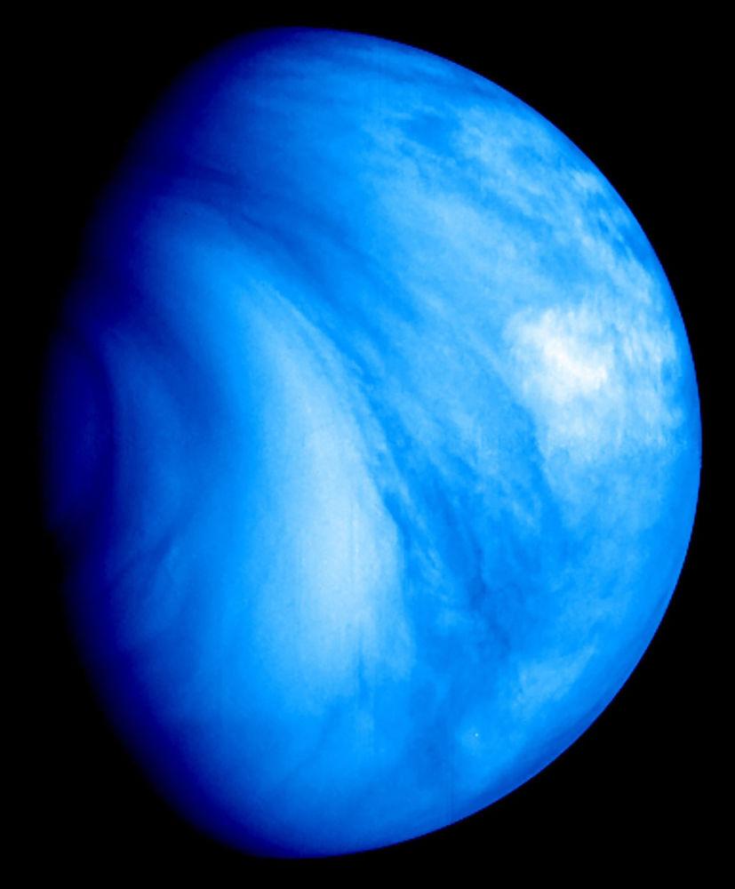 Il pianeta Venere.