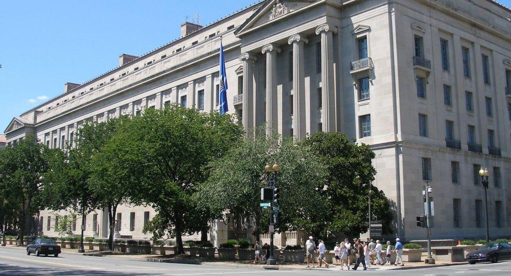 Dipartimento di Giustizia USA a Washington