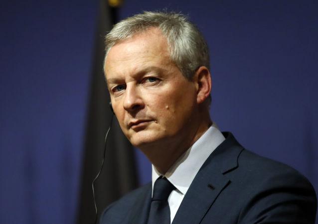 Ministro francese delle Finanze Bruno Le Maire