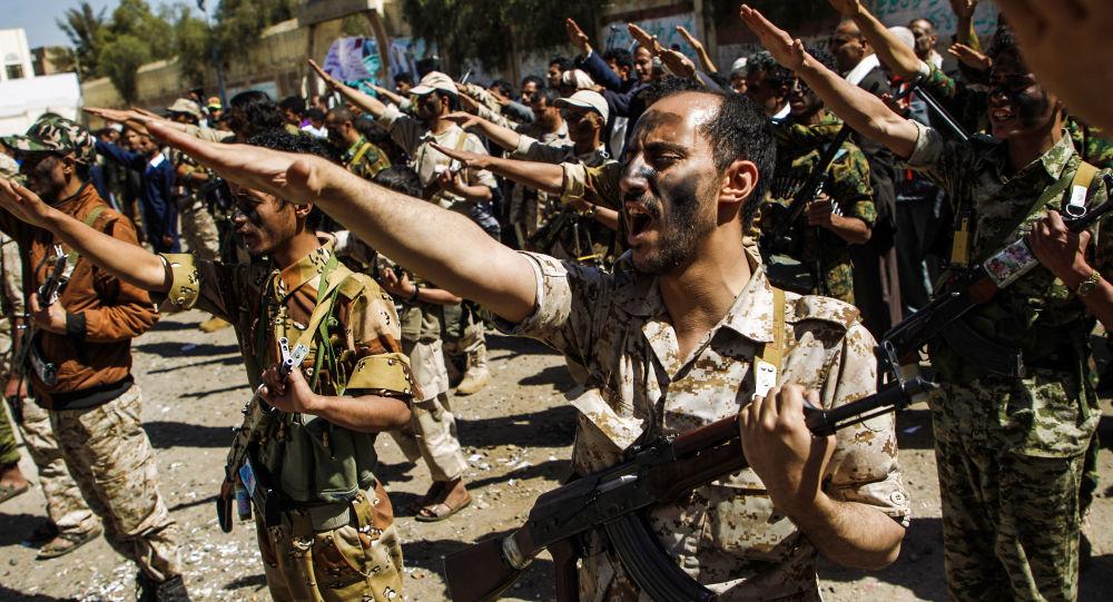 Truppe degli Huthi in Yemen