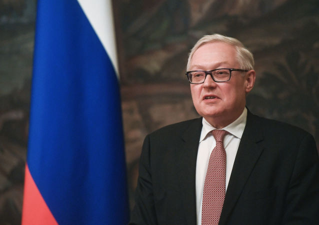 Il vice ministro degli Esteri russo Sergej Rjabkov