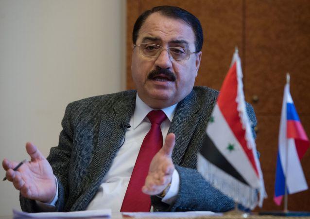 L'ambasciatore siriano in Russia Riad Khaddad