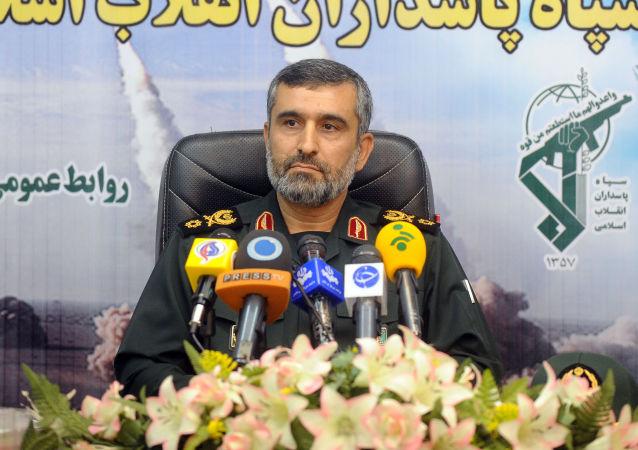 Il generale iraniano Amir Ali Hajizadeh