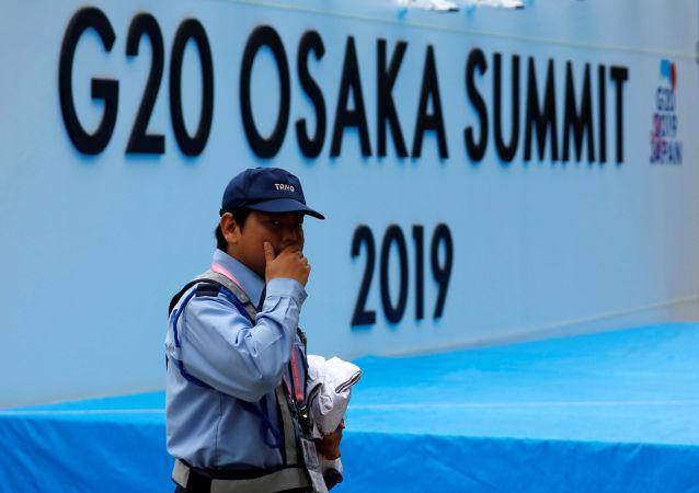 Vorbereitungen auf G20-Gipfel in Osaka