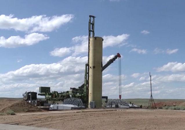 Test di nuovo missile anti-balistico al poligono di Sary-Šagan, in Kazakistan