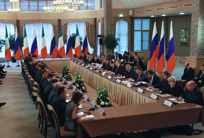 2 dicembre 2010 - Consultazioni Intergovernative Italo Russe a Krasnaya Polyana