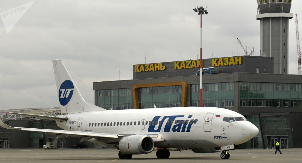 Aereo della compagnia UTair all'aeroporto di Kazan