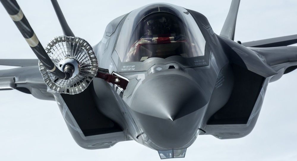 Robert Sullivan UK F-35B Lightning II