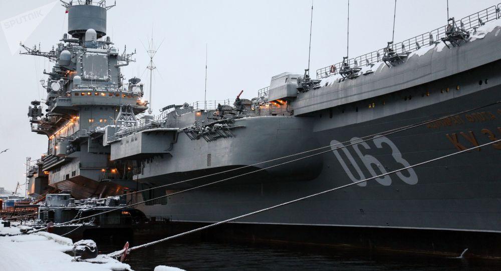 Russia: incendio portaerei, 'vivi 2 dei 3 dispersi'
