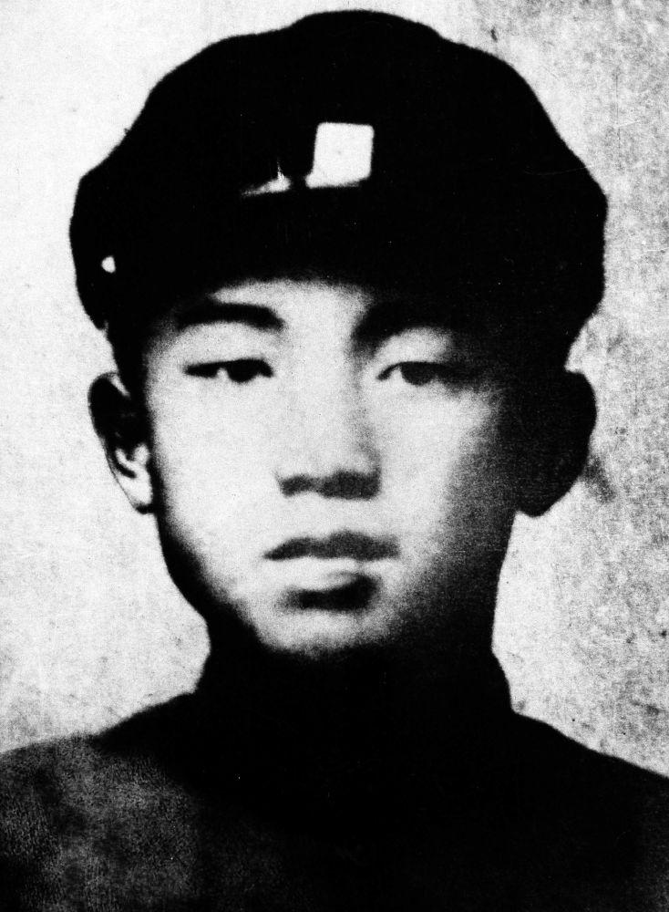 Kim Il Sung all'età di 16 anni, nel 1928
