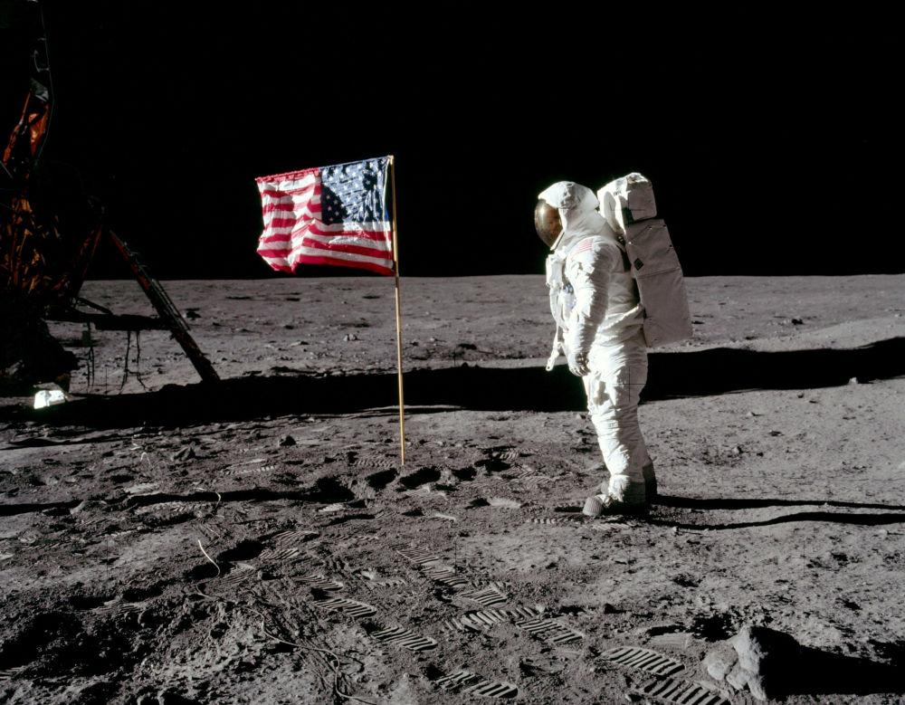 Il secondo uomo sulla Luna, Buzz Aldrin