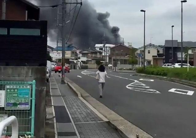 Incendio in uno studio anime a Kyoto, Giappone